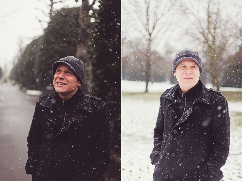 Snowy Lifestyle Session - Chester Portrait Photographer