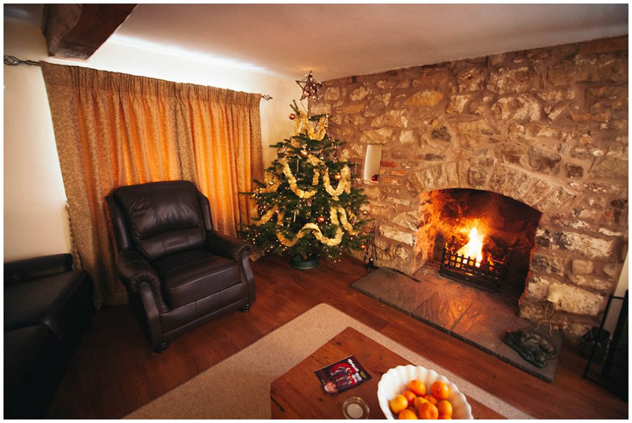 Christmas at Broncoed Uchaf Guest House