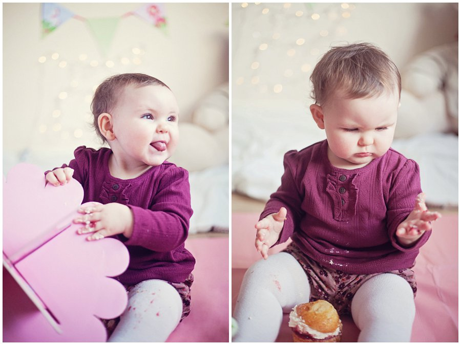 1st birthday cake smash photoshoot