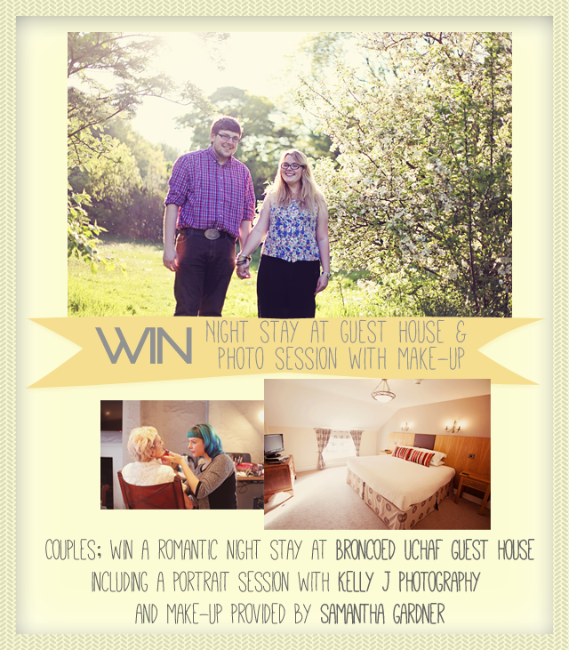 Competition Time! – Win a night stay and a photo session.