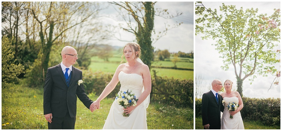 Intimate wedding in Somerset