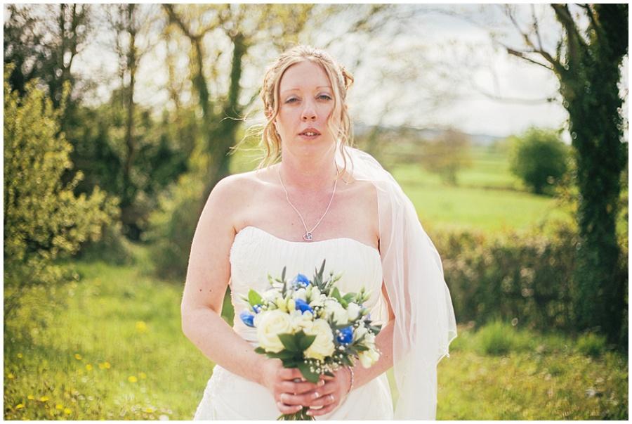 Intimate wedding in Somerset