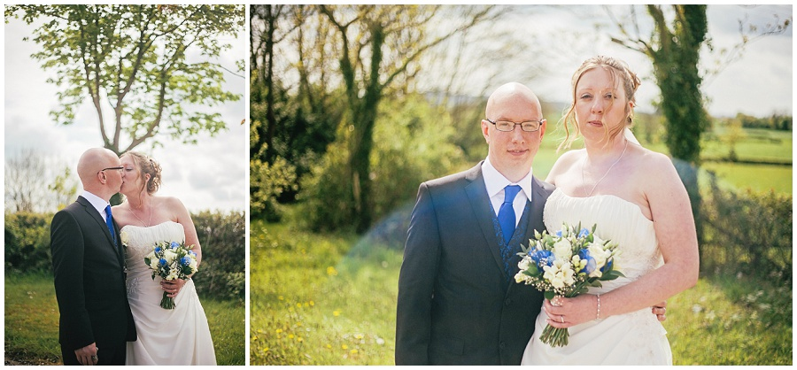 Leanne & Lloyd's Intimate Wedding – The Crossways, North Wootton