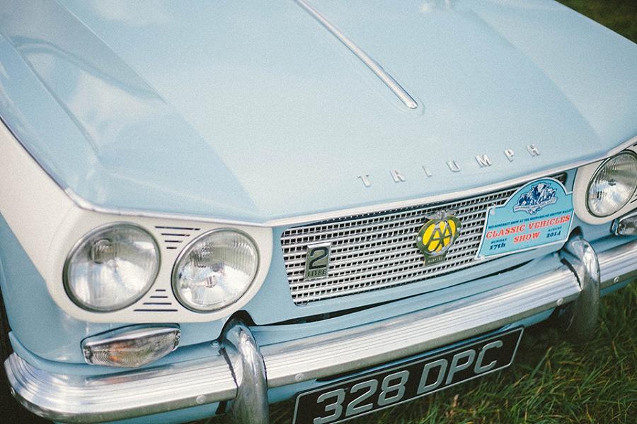 Classic Car Triumph Detail