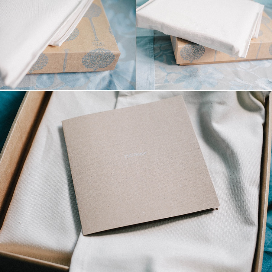Fine art wedding album - Somerset wedding photographer