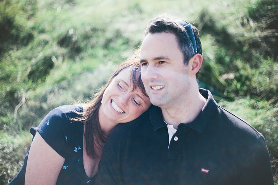 Anniversary Shoot On The Beach – Conwy, North Wales