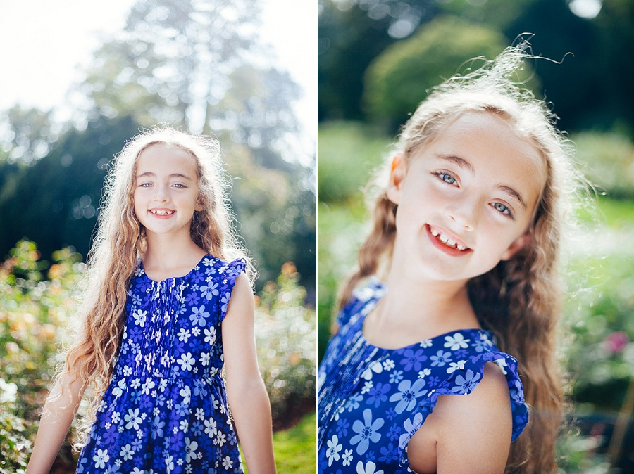 Child Photographer - Portrait session in the park