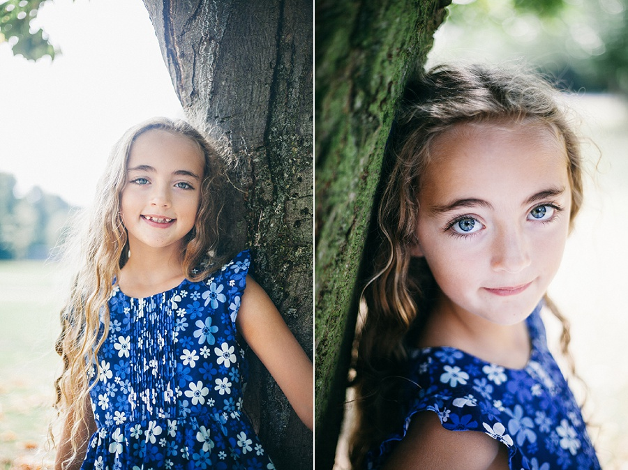 Child Photography - Portrait session in the park