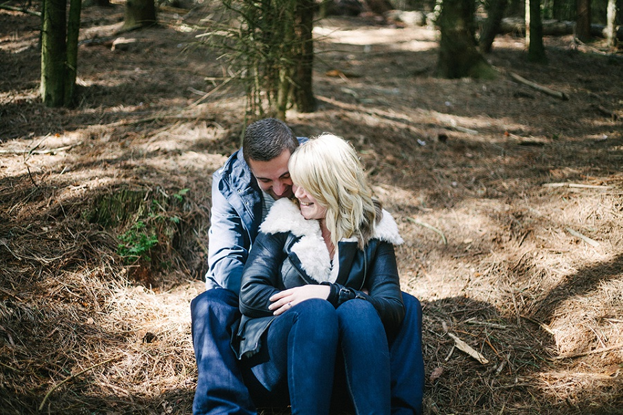 Forest Engagement Shoot - Wedding Photographer