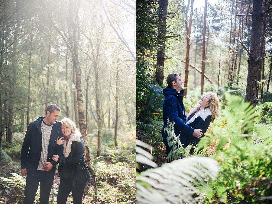 Fun engagement shoot - wedding photography