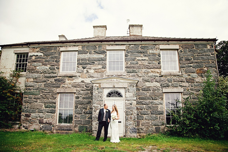 Romantic Elopement Wedding at Seiont Manor, Caernarfon