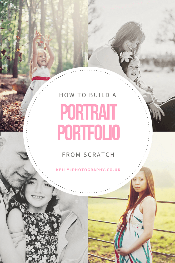 how to build a portrait portfolio from scratch