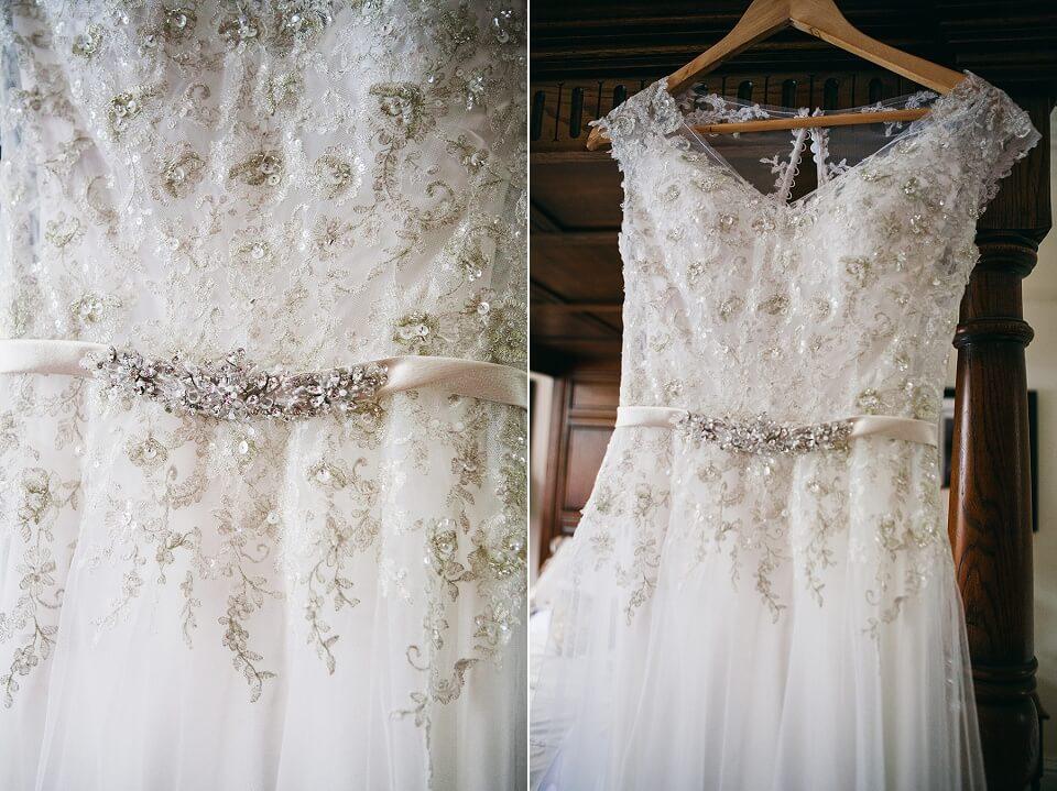 Wedding Dress - Bridal Prep Photography