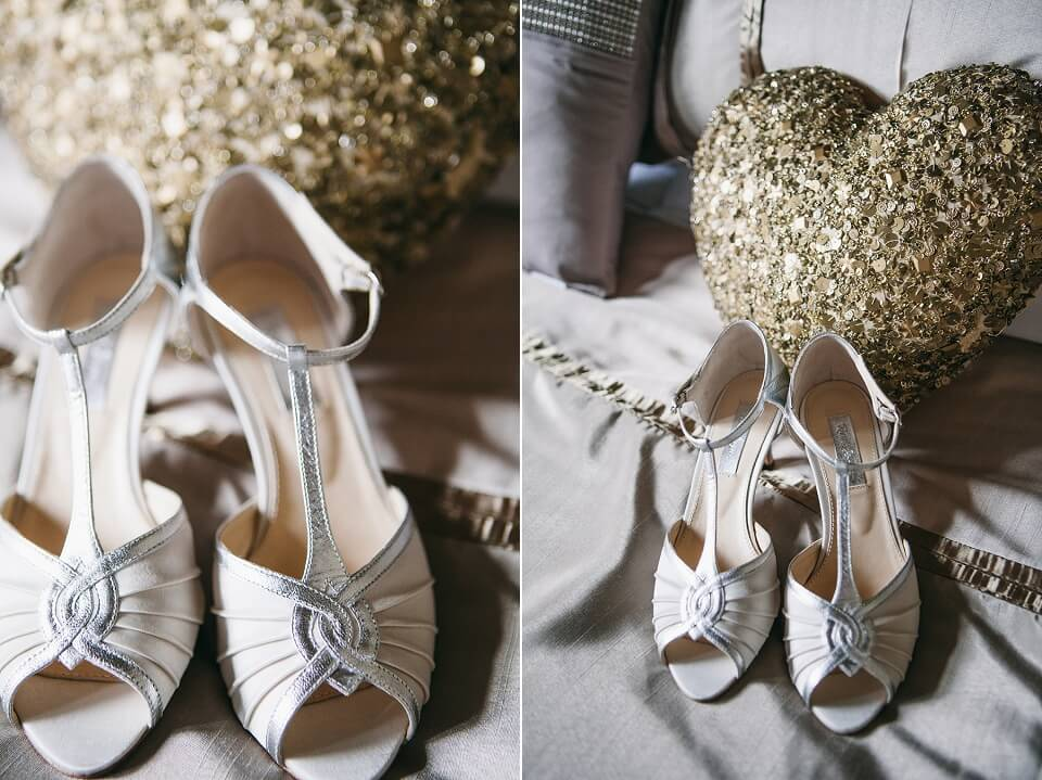 Wedding Shoes - Bridal Prep Photography