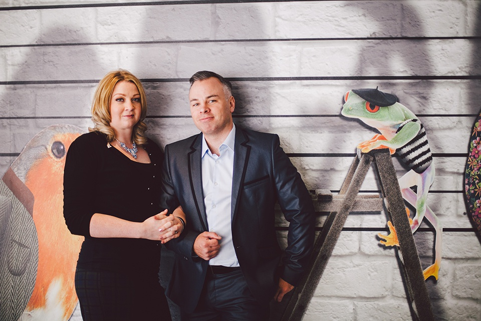 Quirky Engagement Shoot in Oddfellows
