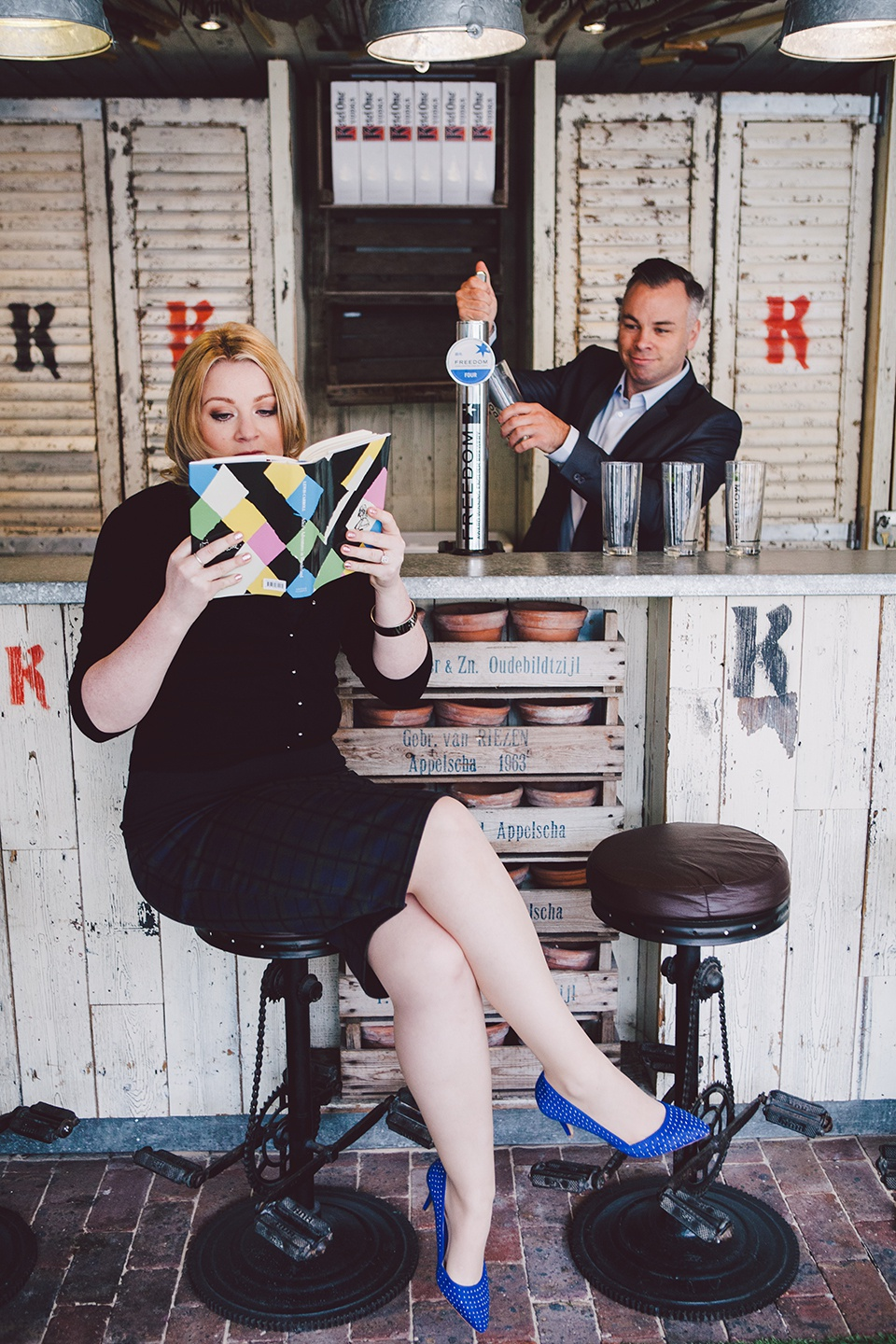 Quirky Engagement Shoot