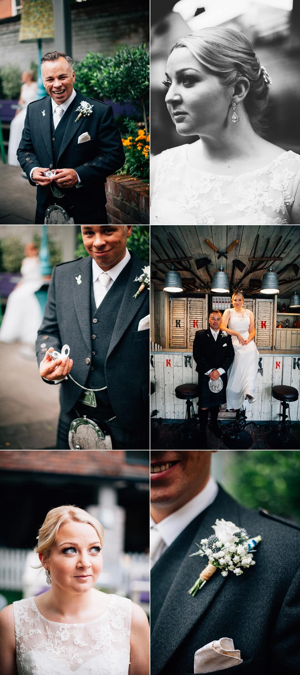 Alice in Wonderland Themed Wedding - Alternative Wedding Photography
