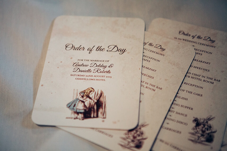 Alice in Wonderland Wedding - Alternative Wedding Photography