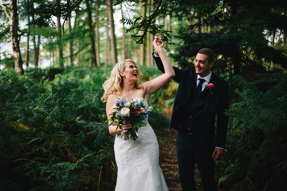 Delamere Forest Wedding | Somerset Wedding Photographer