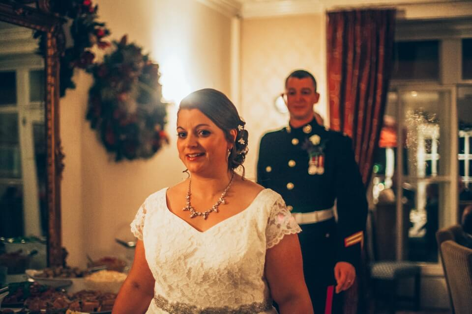 Christmas Bowlish House Wedding in Shepton Mallet, Somerset