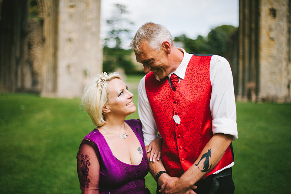 Glastonbury Handfasting Wedding