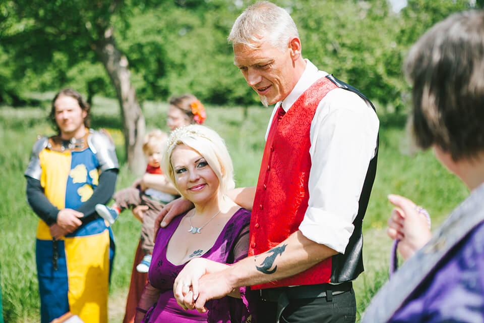 Glastonbury Handfasting Wedding - Somerset Wedding Photographer
