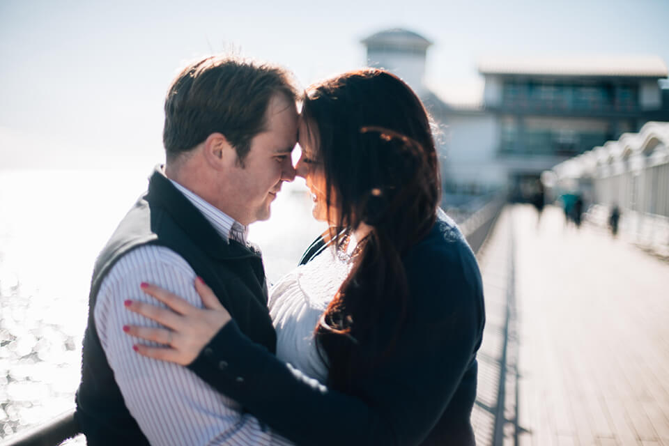 Weston-Super-Mare Pre-Wedding Shoot