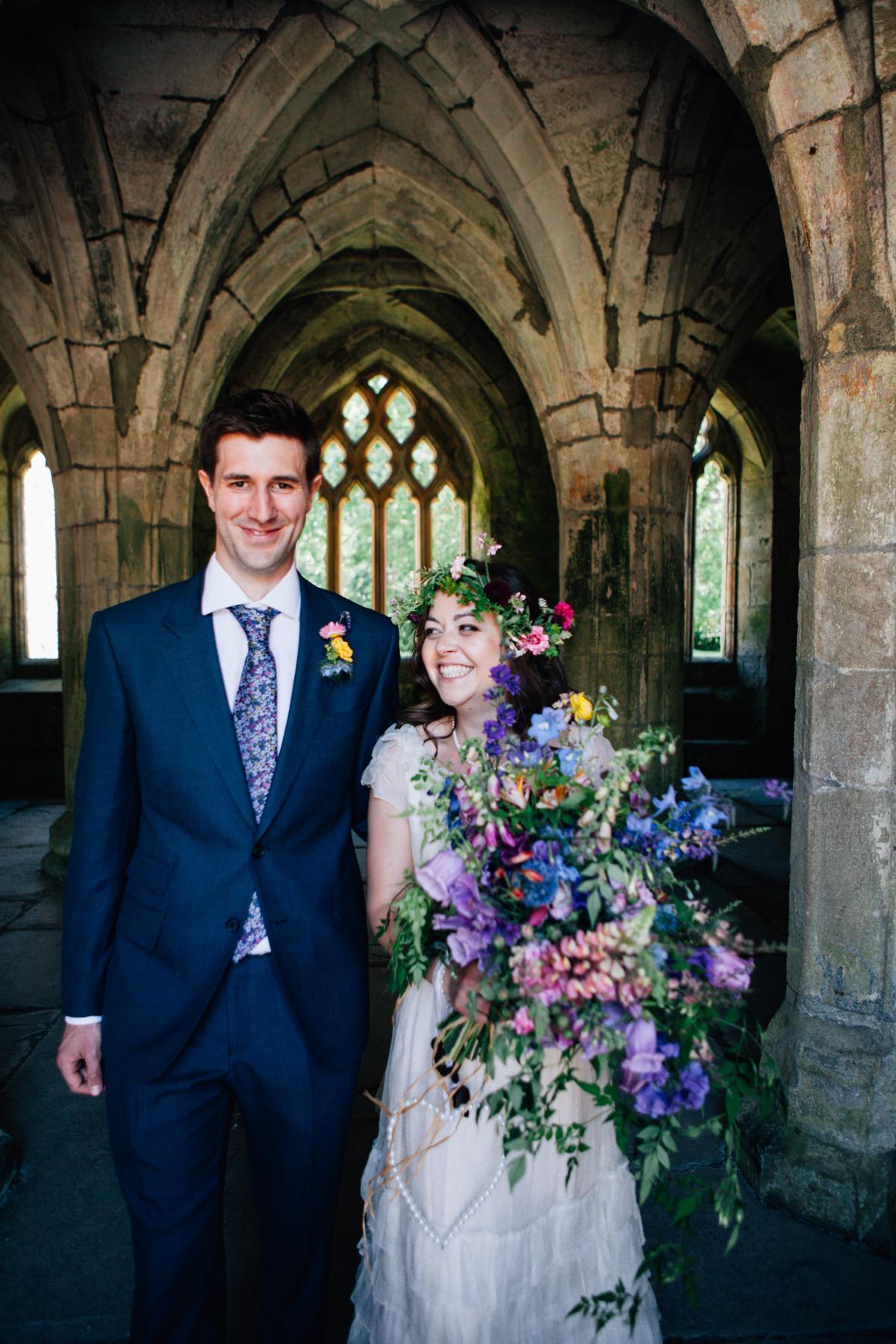 Valle Crucis Abbey Wedding - Somerset Wedding Photographer