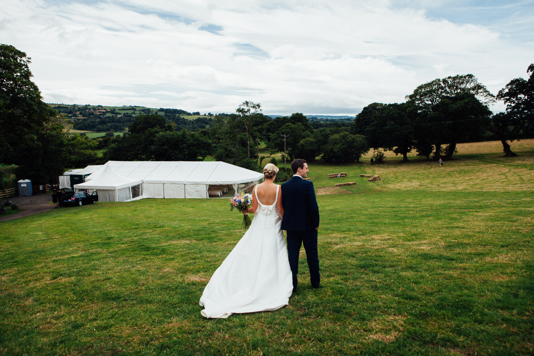 Colourful Wedding Photography in Somerset