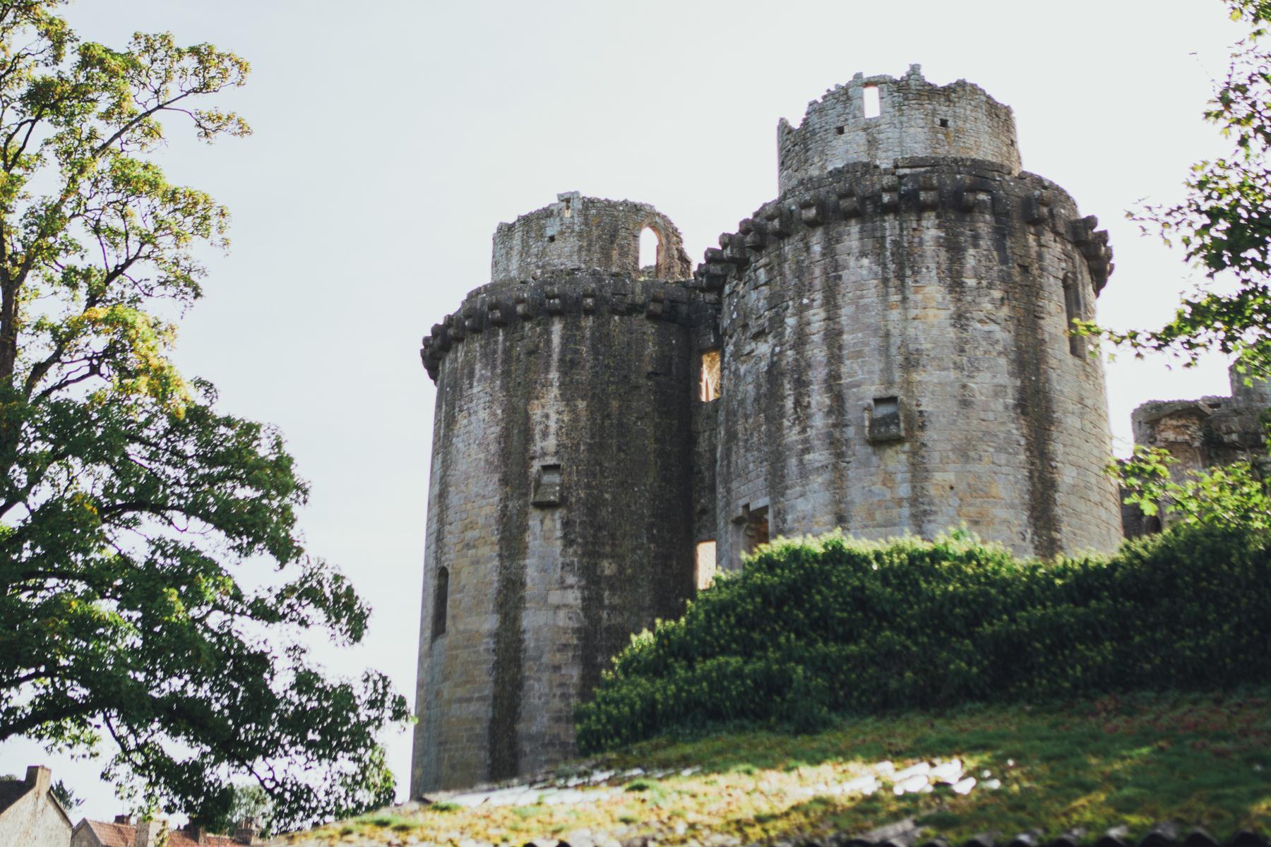 Gothic Nunney Castle Wedding