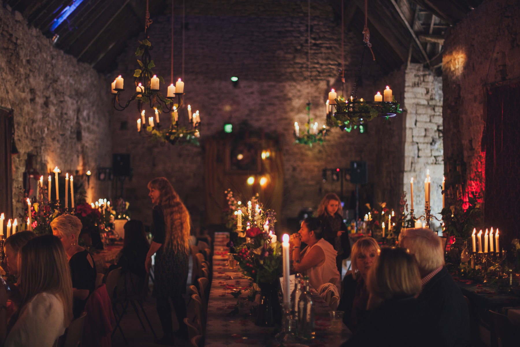 Gothic Nunney Castle Wedding