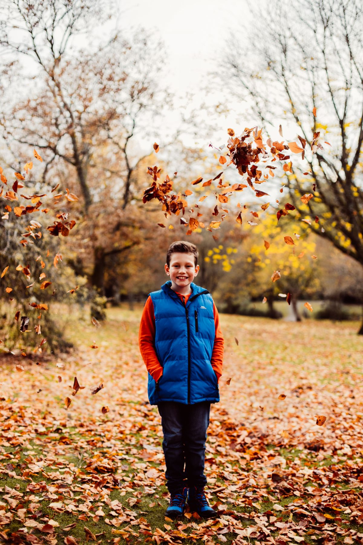 Colby | Autumn Portrait Photography in Shepton Mallet